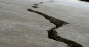 Cracking concrete